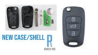 How to Open and Replace Shell of Hyundai/KIA i30/i20/Elantra Car Key Case