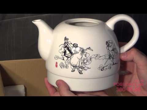 Обзор: керамический чайник электрический Symbol 1л (в России ROLSEN) - Posudaclub.kiev.ua