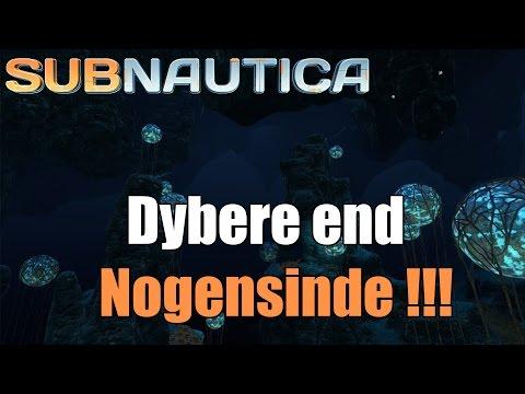 Subnautica survival EP 11 - vi går dybere en nogensinde !!