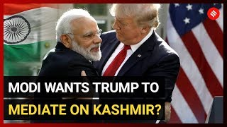 India denies Trump claim that PM Modi asked him to mediate on Kashmir