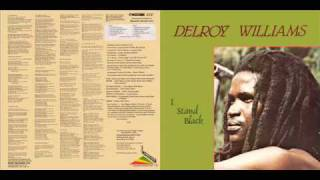 Delroy Williams 1984 I Stand Black B5 Learn
