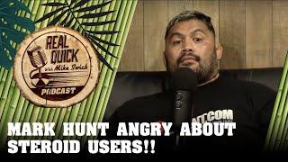 Mark Hunt speaks on Brock Lesnar vs Jon Jones / Steroids - Real Quick With Mike Swick Podcast