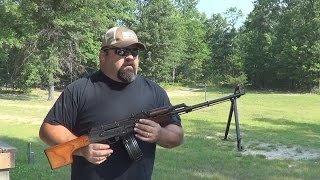 RPK 7.62x39 Shooting & Review With 75rd Drum Dump - prepperkip