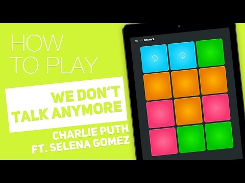 Thumbnail: How to play: WE DON'T TALK ANYMORE (Charlie Puth Ft. Selena Gomez) - SUPER PADS - Distance Kit