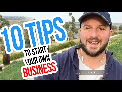 Starting a business in Australia - 10 TIPS you need to know !