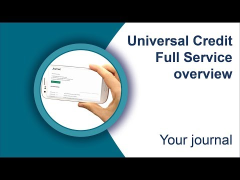 Your journal (Universal Credit full service)