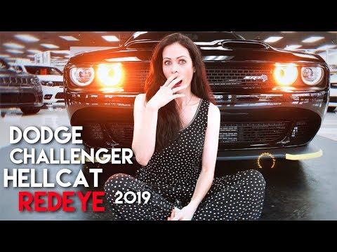 NOVO Dodge Challenger HELLCAT REDEYE 2019 e o PODER DE FOGO da linha SRT: $79,915