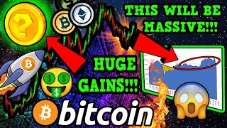BITCOIN WINDS UP for INSANE MOVE!!! THE NEXT DEFI CRAZE!!!!? 100X GAINS EASY!?!!!