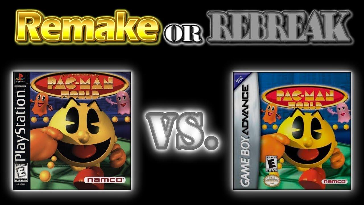 ROR: Pac Man World: 20th Anniversary (PS1 Vs. GBA)