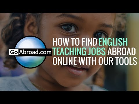 How to Find English Teaching Jobs Abroad Online on GoAbroad