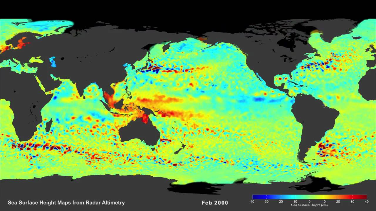 Sea Surface Height Maps From Radar Altimetry YouTube - Altimeter map