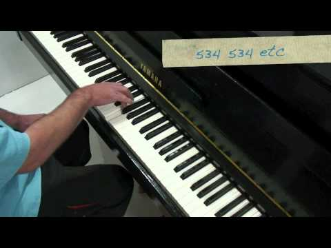 Chopin Etude Op.10 No.2 - Tutorial (2) Paul Barton, piano