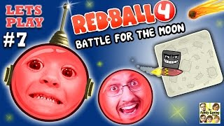 Download REDBALL 4 is BACK!  Chase & Dad go to SPACE 2 Battle for the Moon Levels 46-55 (Part 7 Gameplay) Mp3 and Videos