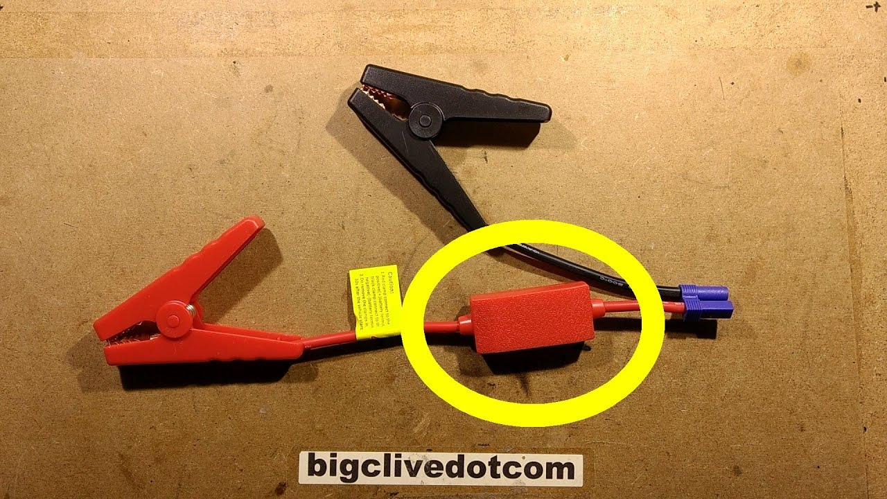 Whats In The Little Red Box On Some Jump Start Leads Guess First Electrical Fuses