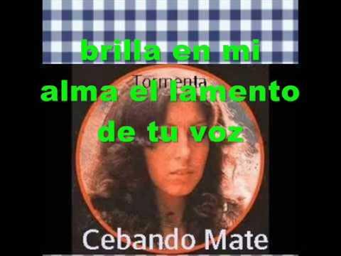Tormenta - Cebando Mate (Pistas Martín) KARAOKE