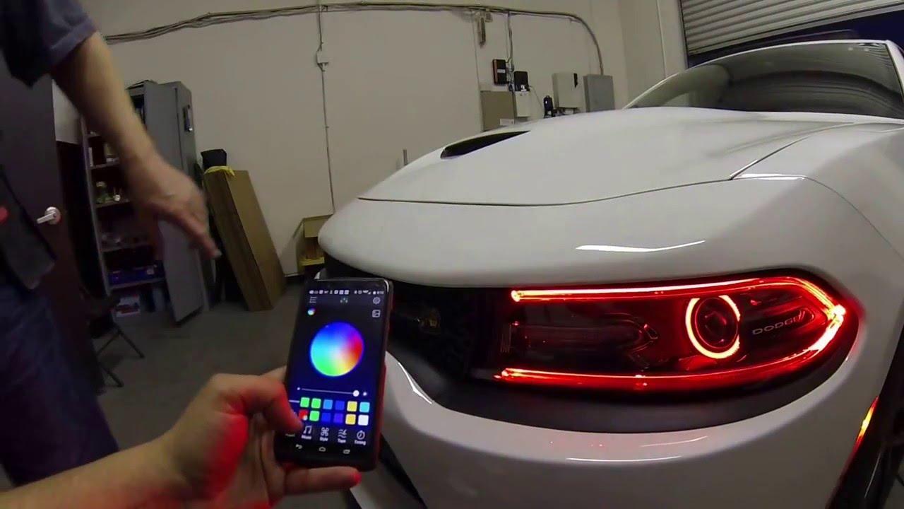 2015 Dodge Charger Scat Pack W Rgbw Led Drl Boards Amp Rgb
