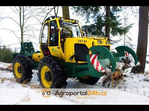 Горски колесен трактор LKT 81 ITL