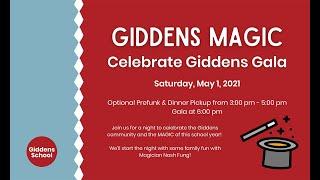 Giddens Magic - Annual Gala