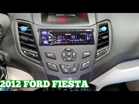 2012 Ford Fiesta Radio Removal And Cd Player Install