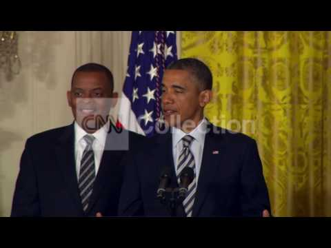 OBAMA TRANS SECY ANNOUNCEMENT- WALK UP