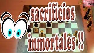 Kasparov grandes sacrificios inmortales vs Topalov