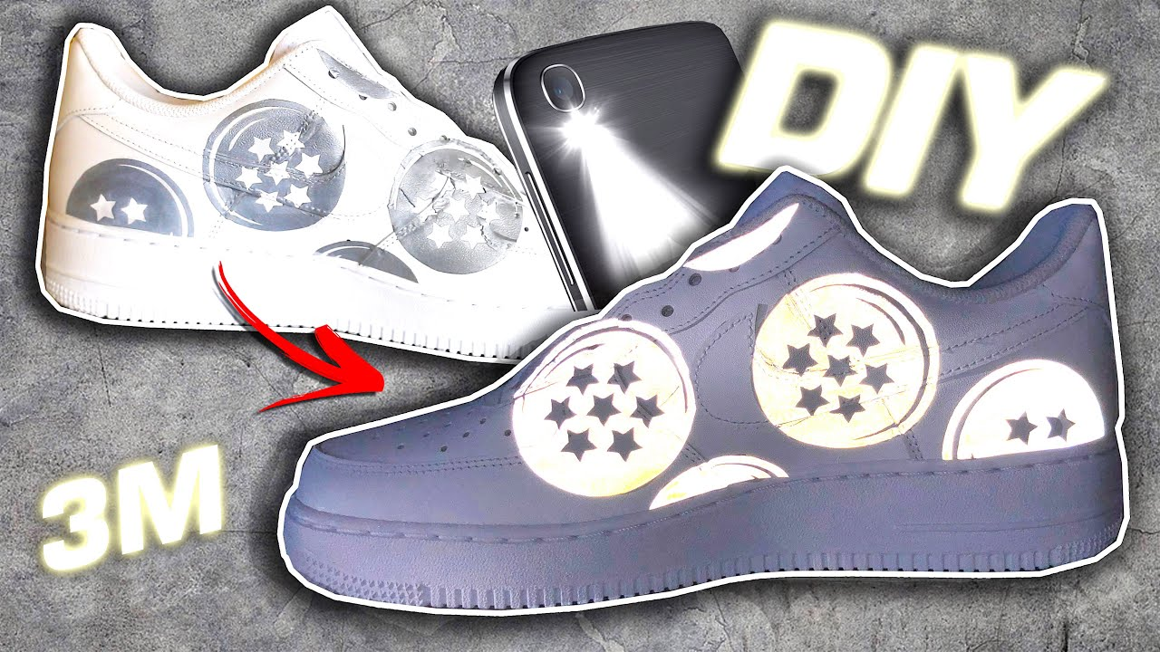 How to highly reflective 3m your shoes clothes bags more full diy hack