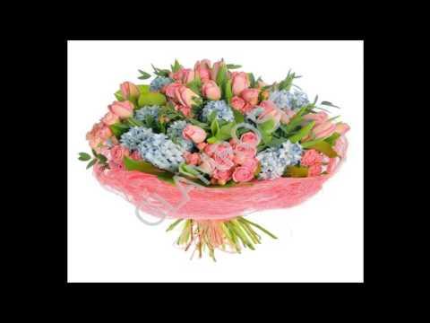Букеты тюльпанов  9