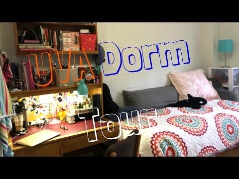 University of Virginia Dorm Tour /old dorm edition 2017