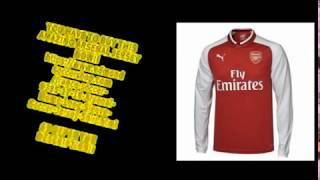 ELMONTYOUTHSOCCER.VIP - ARSENAL 17/18 HOME LONG SLEEVE JERSEY!! - BEAUTIFUL UNBOXING REVIEW!!!!!