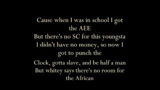 Ice Cube - A Bird In The Hand (lyrics)