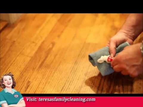 Removing Scuff Marks From Wood Floors Youtube
