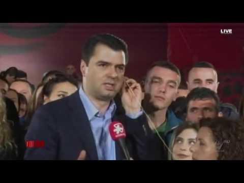 Lulzim Basha dhe Anila Basha debatojnë live, gazetarja: Më keni dhënë lekë (VIDEO)