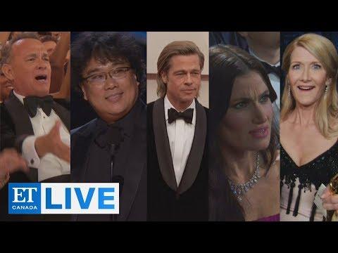 2020 Oscar Highlights + Reaction   ET Canada