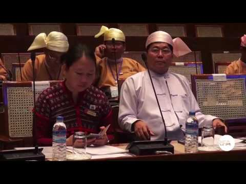 Yangon Parliament on Budget