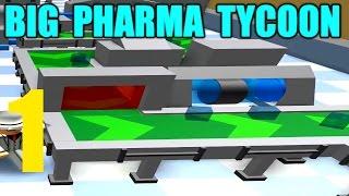 CREATING A CURE! - Big Pharma Tycoon Ep 1 - ROBLOX