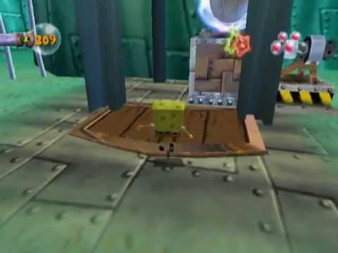 SpongeBob SquarePants: Creature from the Krusty Krab (PS2) - Part 1
