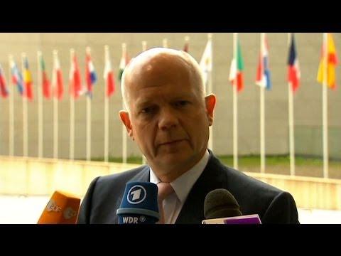 William Hague: Russia Behind Unrest in Eastern Ukraine