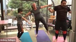 Family Yoga With the Gallegos' - Moon Exploration