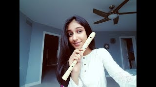New Rules-Dua Lipa with notes  - Recorder Cover
