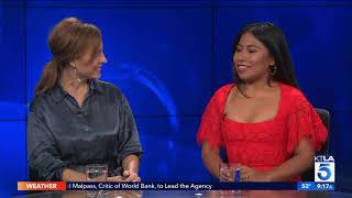 Oscar Nominees Yalitza Aparicio & Marina de Tavira on How they Learned from Each Other in Roma