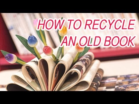 Diy How To Turn An Old Book Into A Decoration The Super Effect