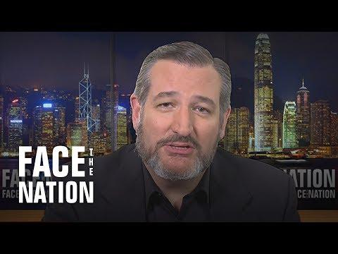 ": Senator Ted Cruz on ""Face the Nation"""