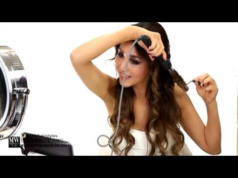 HAIRSTYLE | EASY Wedding Half Updo HAIRSTYLE with CURLS| Bridal Hairstyles for Long Medium Hair