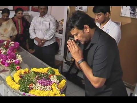 Mega Star Chiranjeevi Emotional Speech @ Comedian Mada Venkateswara Rao Death Ceremony