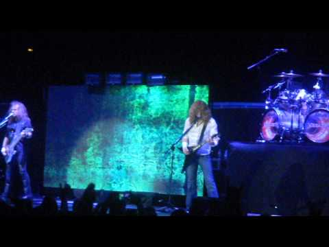 Megadeth - Sweating Bullets - Bridgestone Arena - Nashville, TN 9-5-2013