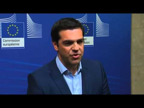 Alexis Tsipras says EU-Greece deal 'close' after meeting Jean-Claude Juncker