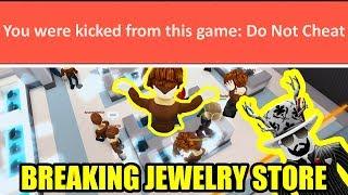 ANTHRO MEN BREAK the JEWELRY STORE! | Roblox Jailbreak
