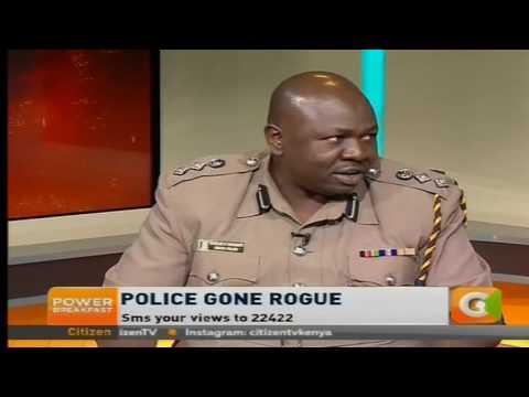 Power Breakfast: Police Gone Rogue