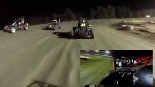 Butler Motor Speedway | Micro Midget In-Car Camera