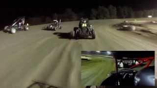 Butler Motor Speedway | Micro Midget In-Car Camera